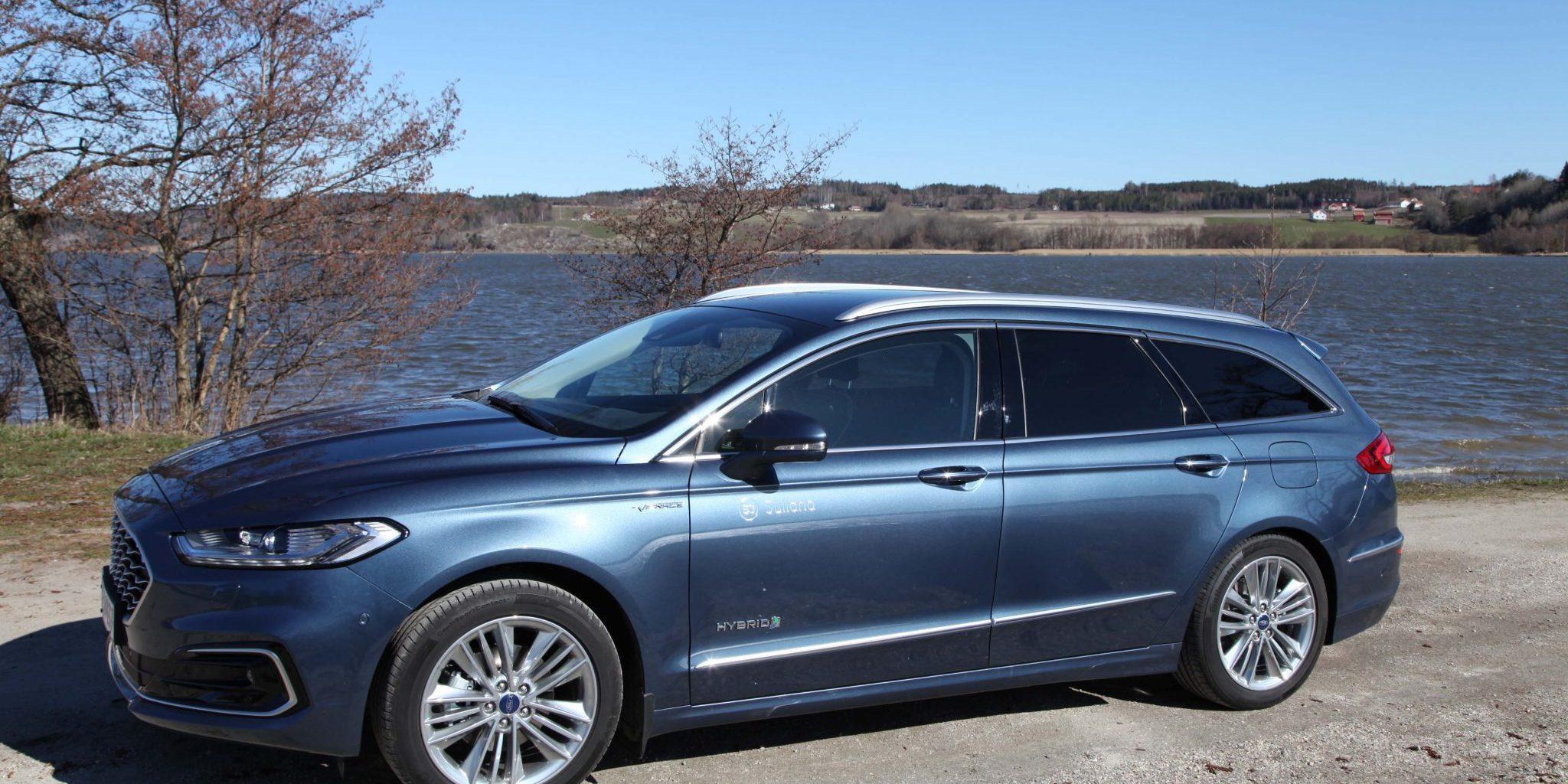 Ford Mondeo: Nå kommer den som hybrid og stasjonsvogn