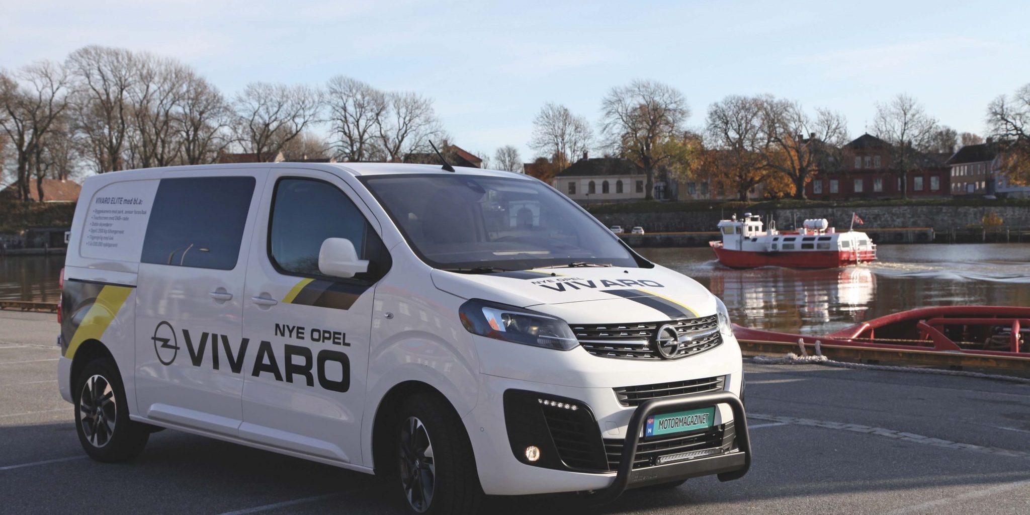 Opel Vivaro Tilgjengelig I Tre Storrelser