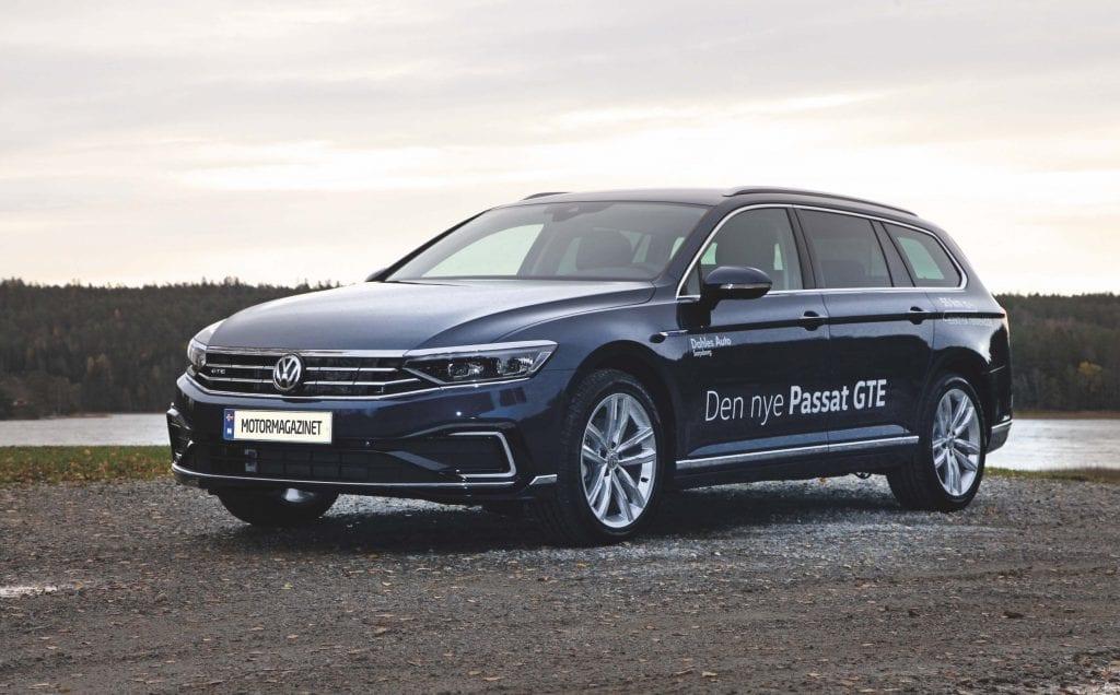 Volkswagen Passat GTE prøvekjørt Passat med mye bedre